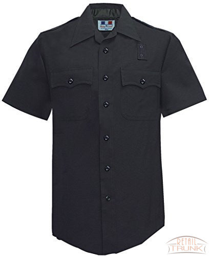 Flying Cross 170R9586 Women's LAPD Uniform Short Sleeve Shirt, Navy, 52