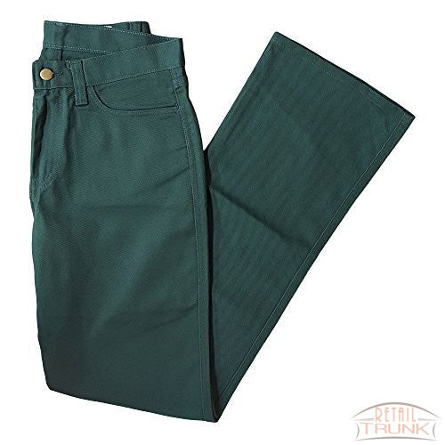 Lion Apparel SA243 Women's Uniform Boot-Cut Jeans, Hunter Green