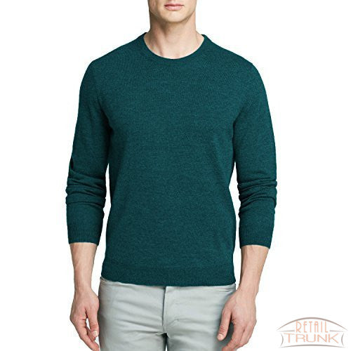 Bloomingdale's Merino Wool Crew Neck Sweater, Dark Jade