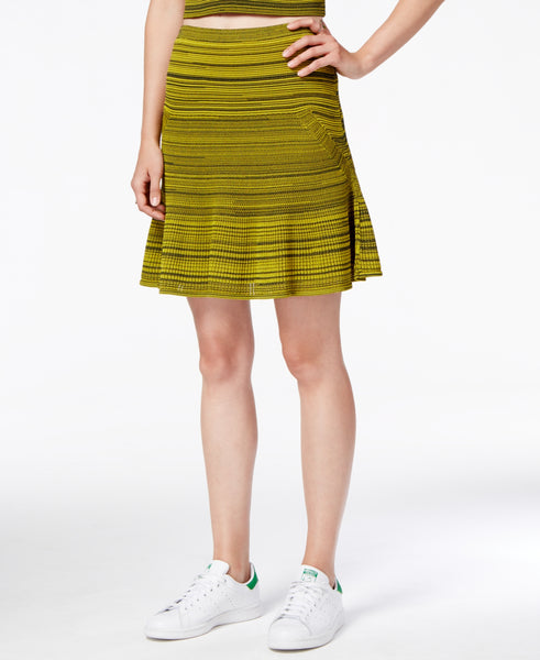 RACHEL Rachel Roy Women's Mesh Fit & Flare Skirt