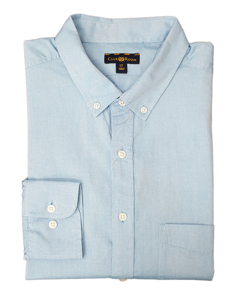 Club Room Men's Big & Tall Classic Fit Solid Oxford Shirt