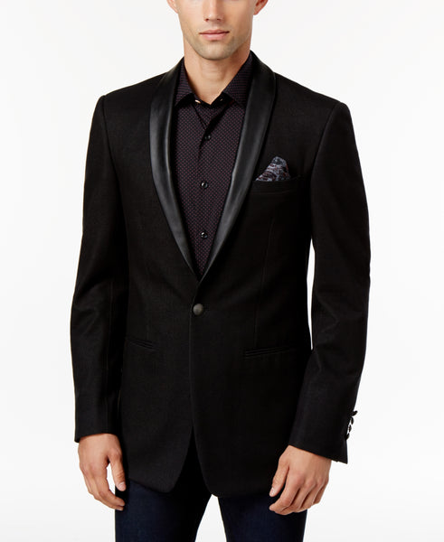 Tallia Men's Slim-Fit Black Sport Coat