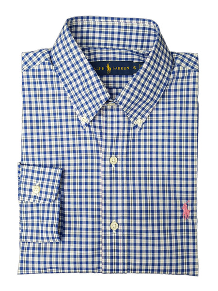 Polo Ralph Lauren Men's Relaxed-Fit Check Poplin Shirt
