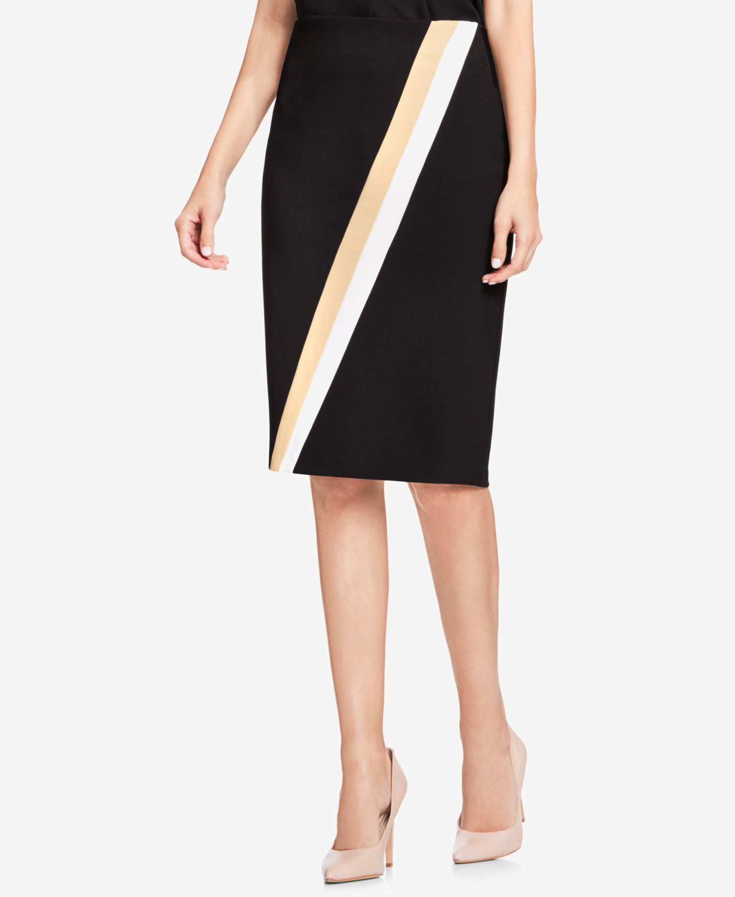 ce180237a8 Vince Camuto Women's Colorblocked Pencil Skirt – Retail Trunk