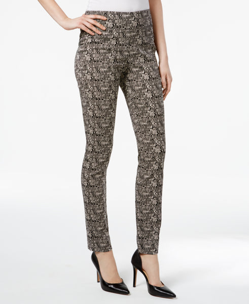 Charter Club Women's Cambridge Print Slim-Leg Pants