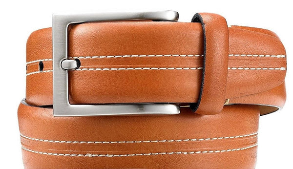 Tasso Elba Men's 33mm Vachetta Casual Belt