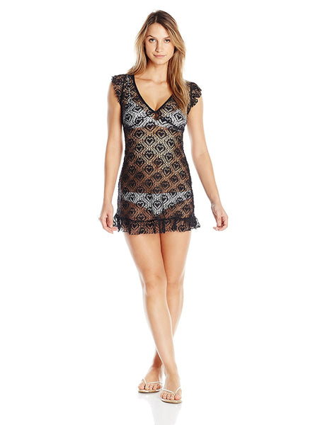 Betsey Johnson Women's Crochet-Lace Cover-Up
