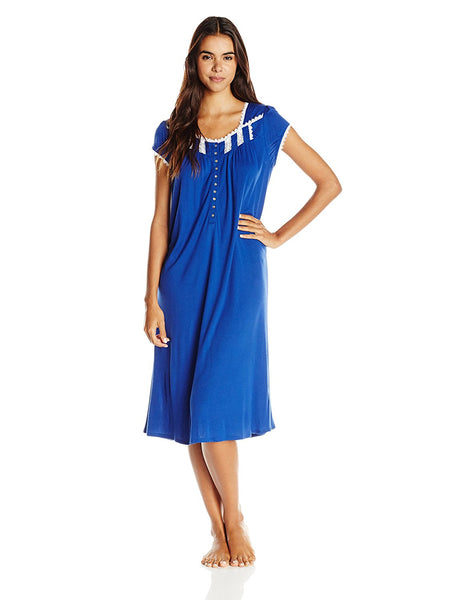 Eileen West Women's 'Waterflower' Modal Nightgown