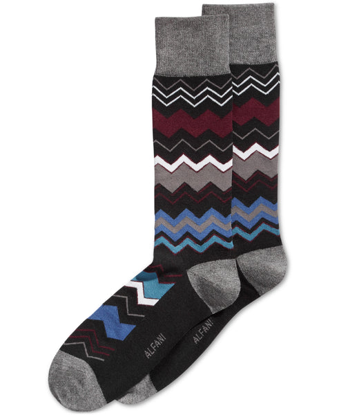 Alfani Men's Chevron Stripe Socks