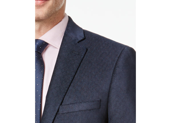 Calvin Klein Men's Slim-Fit Velvet Micro-Grid Sport Coat