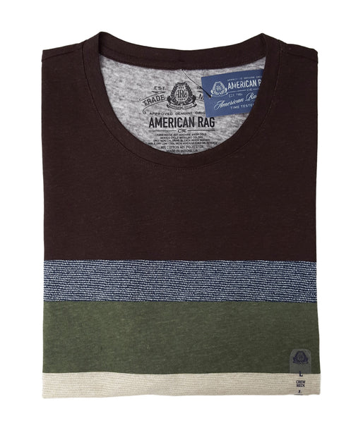 American Rag Men's Variegated Stripe T-Shirt