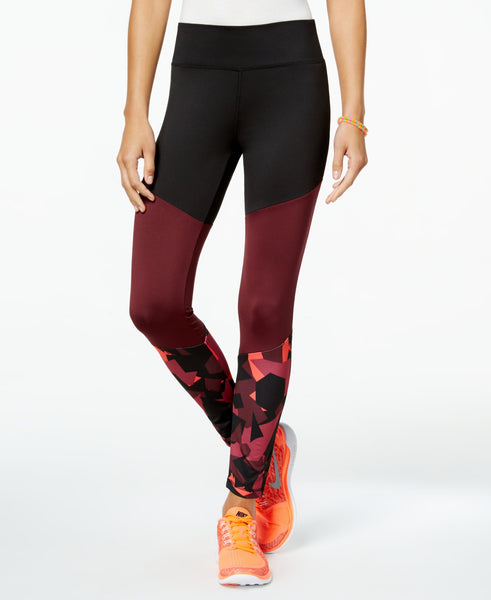 Energie Juniors' Autumn Colorblocked Yoga Leggings
