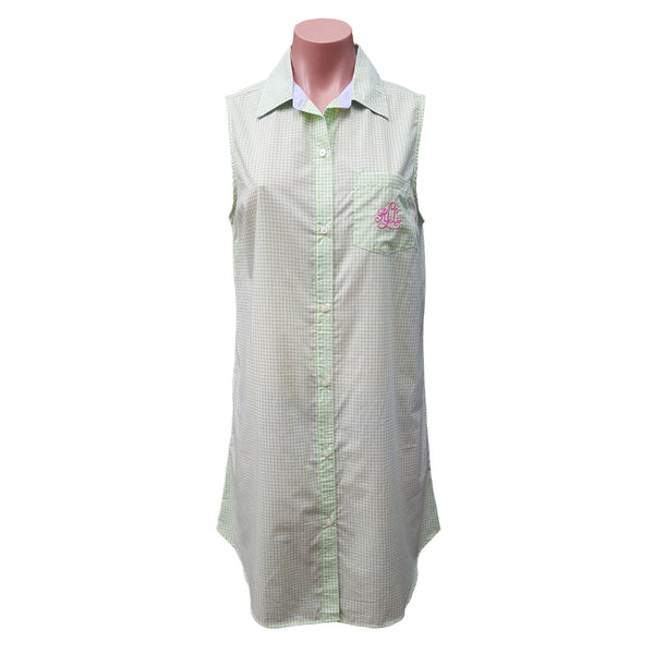 LAUREN Ralph Lauren Women's Sleeveless Cotton Nightshirt