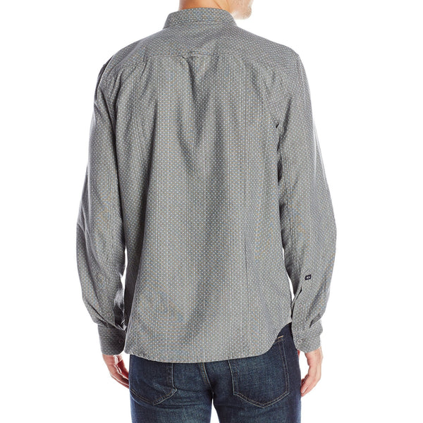 Buffalo David Bitton Men's Siloka Long Sleeve Print Shirt