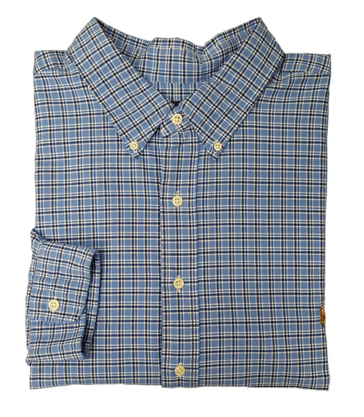 Polo Ralph Lauren Men's Big & Tall Check Oxford Shirt