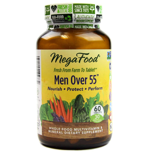 Mega Food Men Over 55 Multivitamins