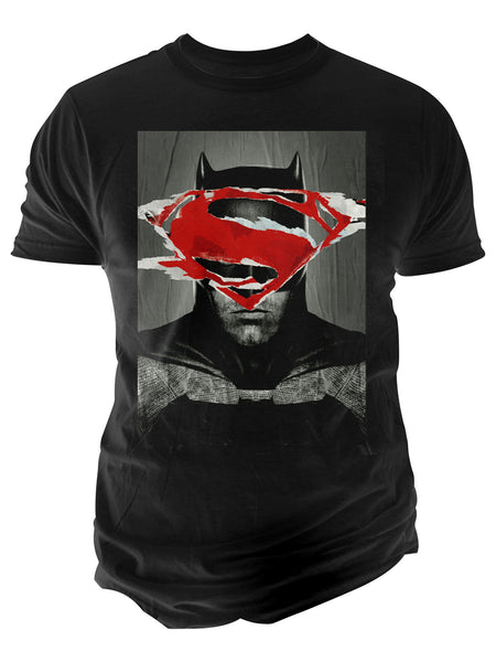 Batman Ripped Poster Graphic-Print T-Shirt from Changes