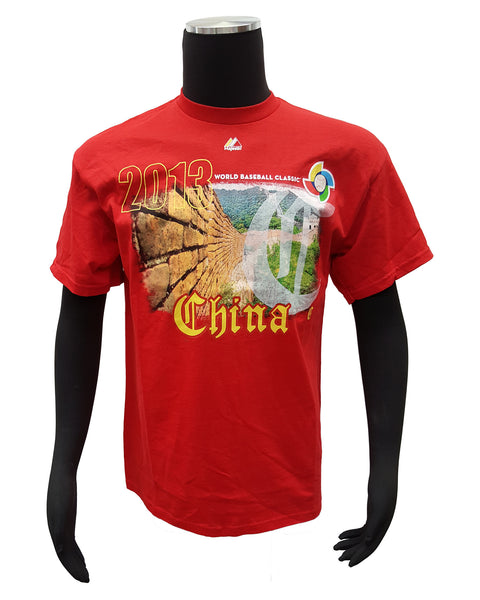 Majestic Men's China 2013 WBC T-Shirt