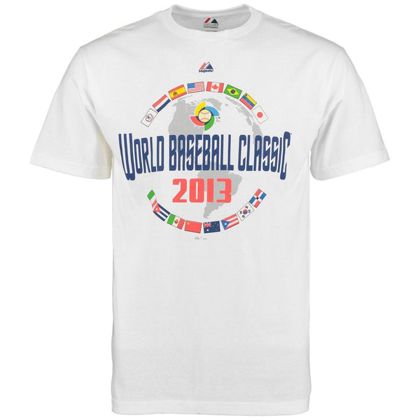 Majestic Boy's Junior USA 2013 World Baseball Classic Event T-Shirt