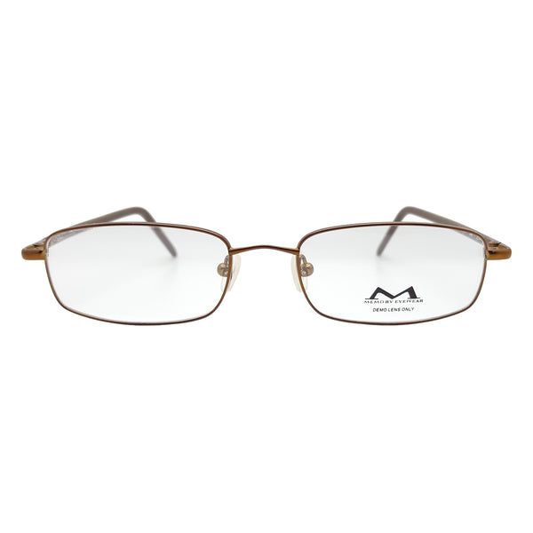 Memory Eyewear Men's Turner Eyeglasses Prescription Frames, 52-18-145 Brown