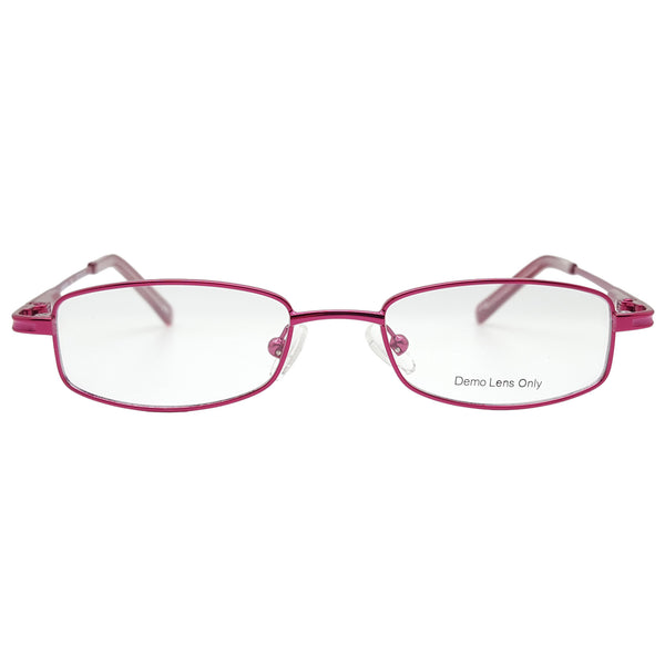 Girls KM0003 Eyeglasses Prescription Frames, 42-16-125 Burgundy