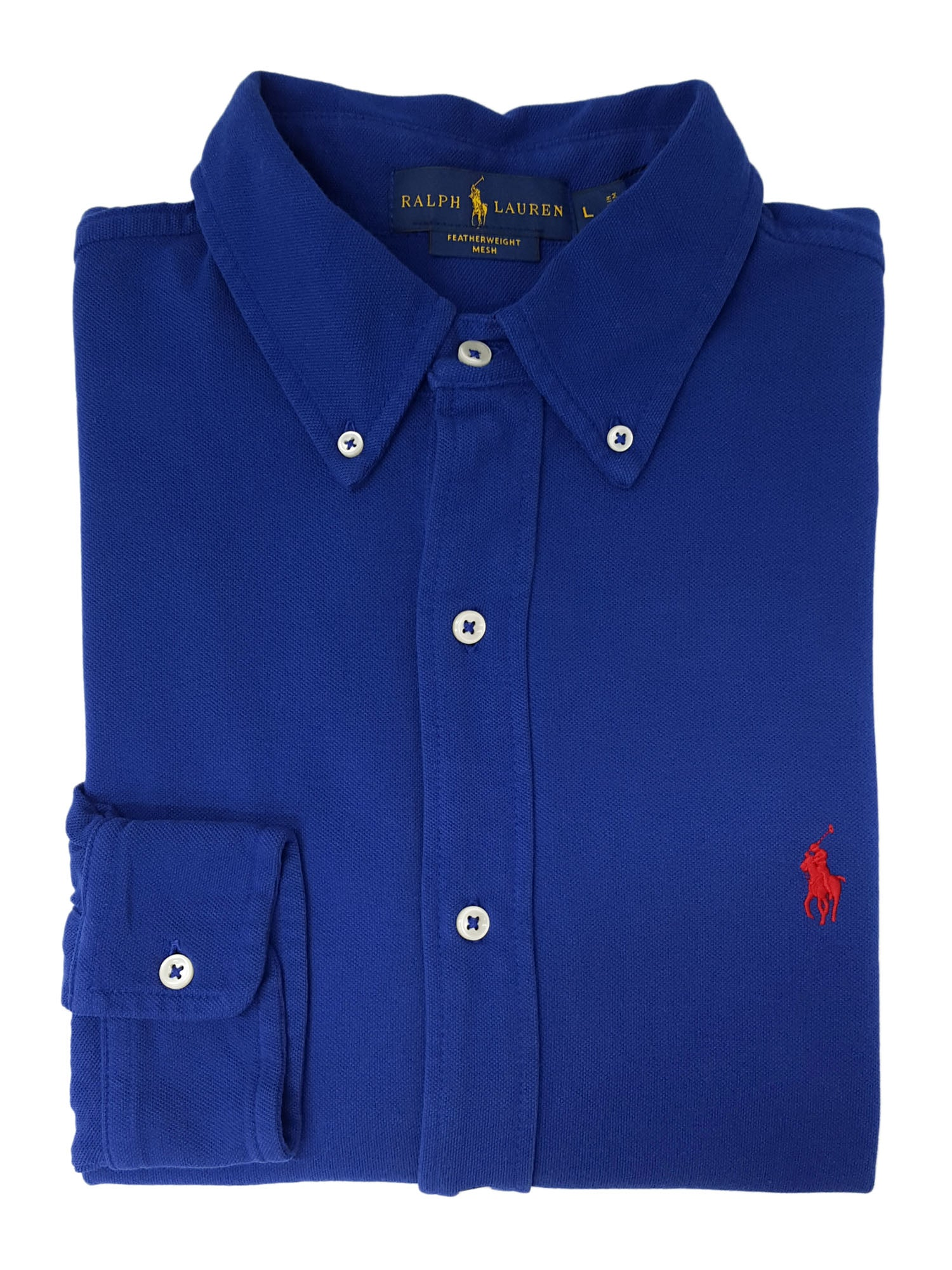 90f566d0 Polo Ralph Lauren Men's Featherweight Mesh Shirt – Retail Trunk