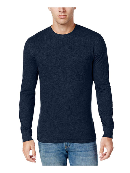 Club Room Men's Slub Long-Sleeve T-Shirt