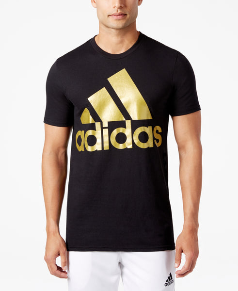 Adidas Men's Metallic Logo T-Shirt
