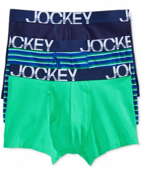 Jockey Men's 3 Pack Active Cotton Stretch Boxer Brief