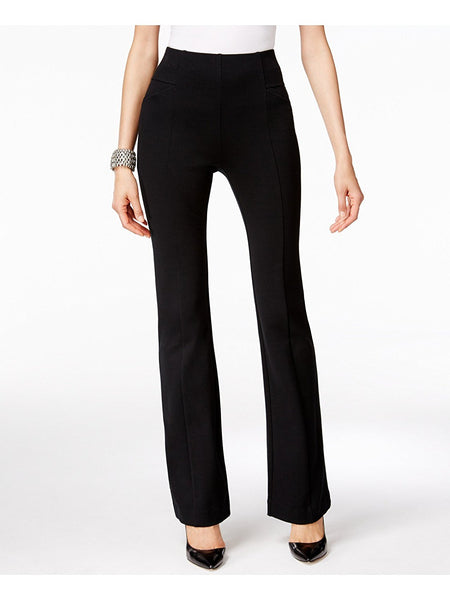INC High-Waist Curvy-Fit Bootcut Pants