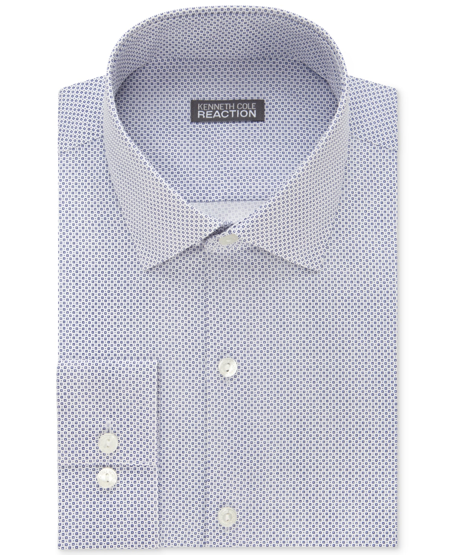 34ce4685ab Kenneth Cole Reaction Men's Slim-Fit Dot-Pattern Shirt – Retail Trunk
