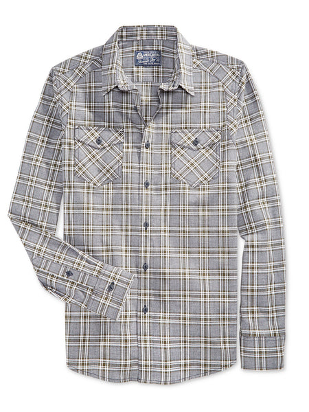 American Rag Men's Plaid Long-Sleeve Shirt