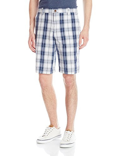 IZOD Men's Shadow Plaid Shorts
