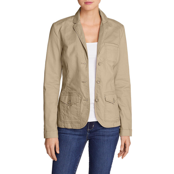 Eddie Bauer 3933 Women's Legend Wash Stretch Blazer
