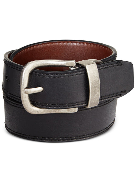 Levi's Two-Tone Reversible Belt, Black/Brown Medium
