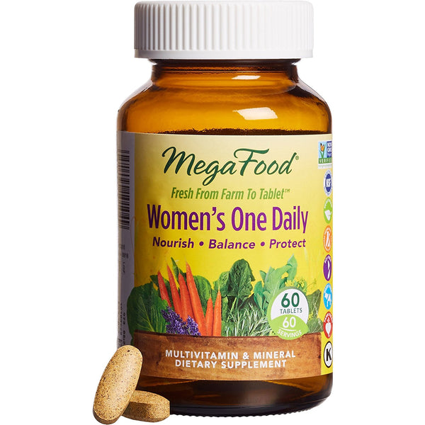 Mega Food Women's One Daily Multivitamins, 60 Tablets