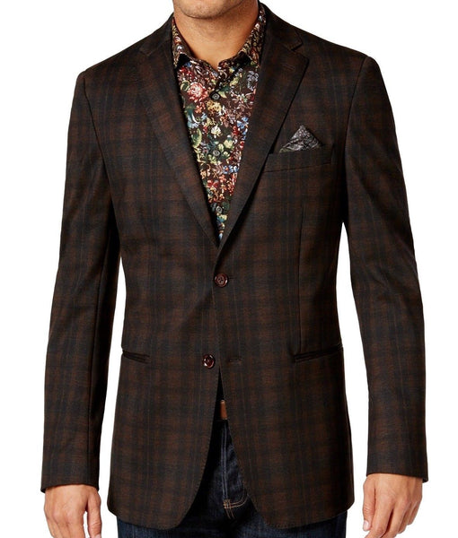 Tallia Men's Plaid Sport Coat