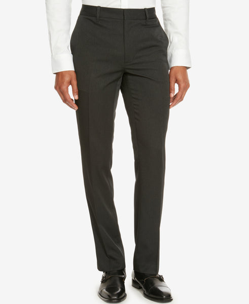 Kenneth Cole Reaction Men's Flat Front Pin Stripe Pants