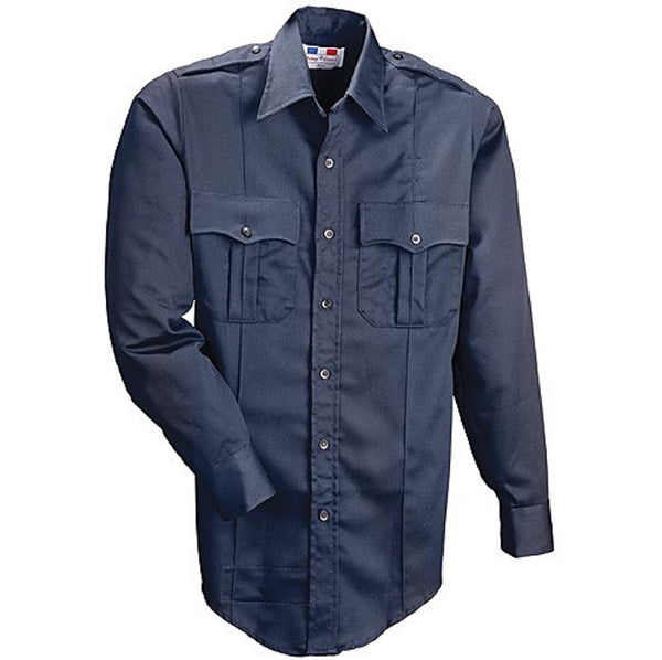 Flying Cross 07020 Men's 100% Cotton Long Sleeve Uniform Shirt