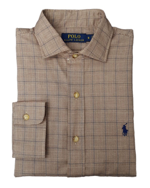 Polo Ralph Lauren Men's Slim-Fit Check Twill Shirt