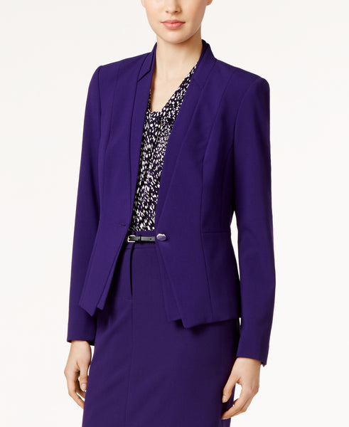 Calvin Klein Women's One-Button Jacket