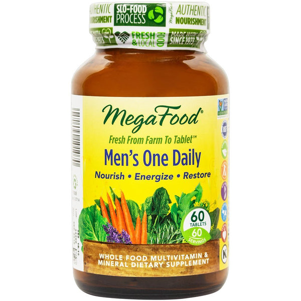 Mega Food Men's One Daily Multivitamins