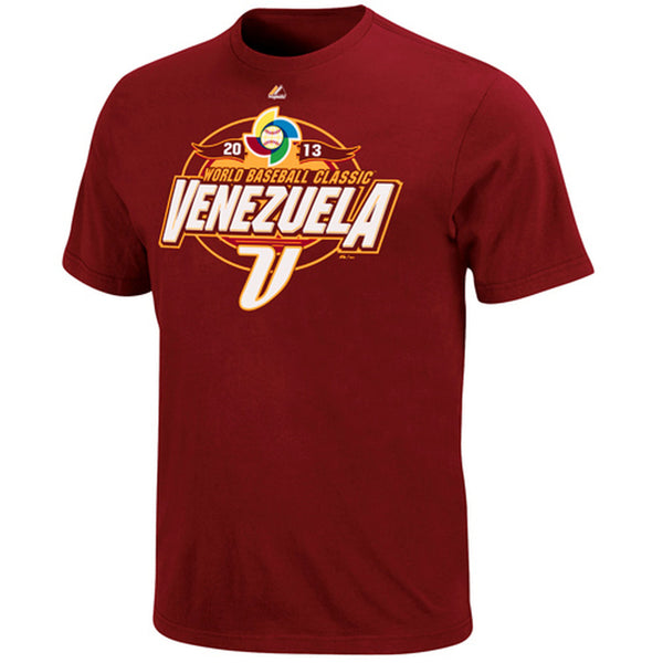 Majestic Venezuela 2013 World Baseball Classic T-Shirt
