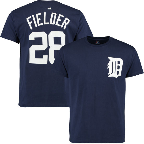 Majestic Boy's Junior Prince Fielder #28 Detroit Tigers T-Shirt