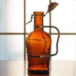2 Liter Metal Handle Growler - WYWB Homebrew