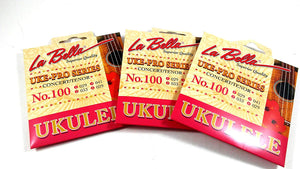 La Bella Ukulele Strings Uke-Pro Series Concert Tenor No 100