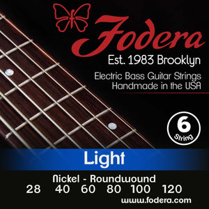 Fodera 6-String Set - Nickel Roundwound Light