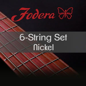 Fodera 6-String Set - Nickel Roundwound Medium