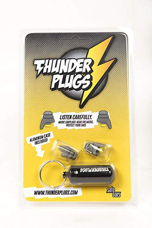 Thunderplugs Classic -18dB Filtered Earplugs for Musicians