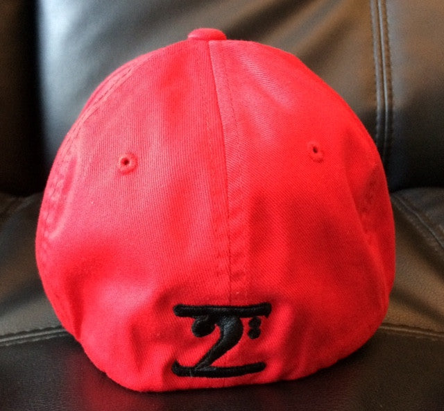 Lathon Bass Wear Hat - Red/Black - S/M
